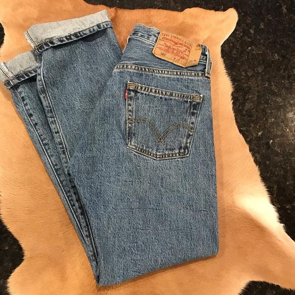 d629c713 Levi's Jeans   Vintage Levis 501 Button Fly High Waisted 29   Poshmark
